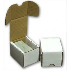 100Ct Cardboard Baseball Trading Card Storage Boxes Bundle / 50