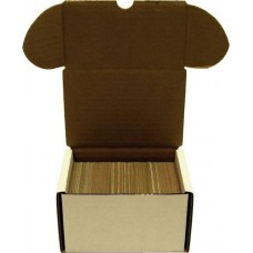 One BCW 330 Count Corrugated Cardboard Baseball Trading Card Box