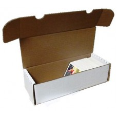 One BCW 550 Count Corrugated Cardboard Baseball Trading Card Box