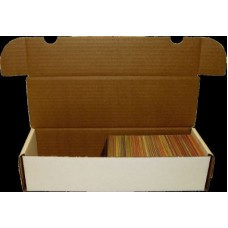 One BCW 660 Count Corrugated Cardboard Baseball Trading Card Box