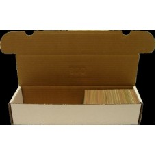 One New 800 Count Corrugated Cardboard Baseball Trading Card Box