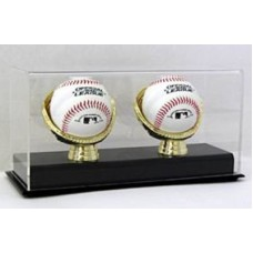 BCW Deluxe Acrylic Double Gold Glove Baseball Display Case