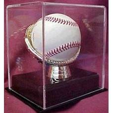 BCW Deluxe Acrylic Gold Glove Baseball Display Case