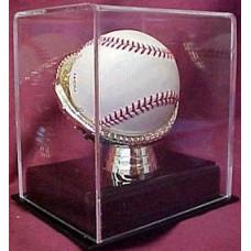 BCW Deluxe Acrylic Gold Glove Baseball Display Case