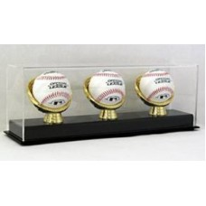 BCW Deluxe Acrylic Triple Gold Glove Baseball Display Case