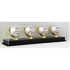 BCW Deluxe Acrylic Four Gold Glove Baseball Display Case