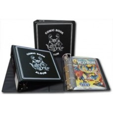 BCW Black 3 Inch Comic Book D-Ring Album Binder