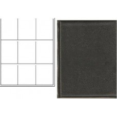 BCW Plain Black Trading Card Combo Album with 9-Pocket Pages