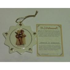 Hummel Christmas Tree Ornament #B549 Angelic Song