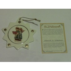 Hummel Christmas Tree Ornament #B551 Angel Duet