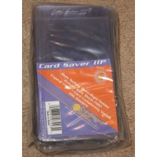 Pack of 100 CBG Card Saver III Semi Rigid Tall Card Holders