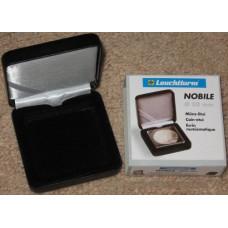 Lighthouse Nobile Q50 Quadrum Single Coin Black Presentation Box