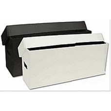 BCW Long Comic Book Storage Box - Plastic Black