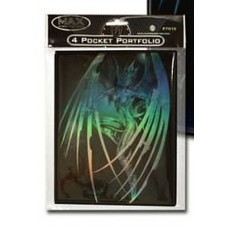 Max Protection Gaming Card 4-Pocket Portfolio - Cyber Angel