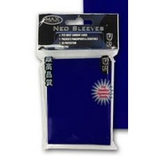 50 Max Protection Deck Guards Flat Blue Small / Yugioh Size