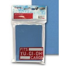 60 Max Protection Deck Guards Flat Sky Blue Small / Yugioh Size