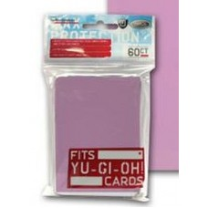 60 Max Protection Deck Guards Flat Pink Small / Yugioh Size