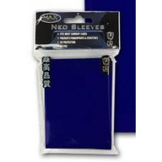 50 Max Protection Standard Game Card Deck Guards - Flat Blue