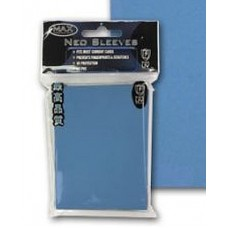 50 Max Protection Standard Game Card Deck Guards - Flat Sky Blue