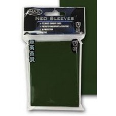 50 Max Protection Standard Game Card Deck Guards - Flat Emerald