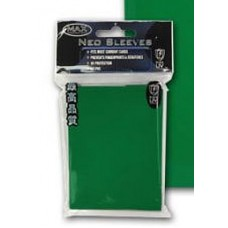 50 Max Protection Standard Game Card Deck Guards - Flat Green