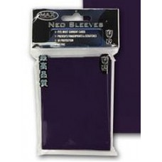 50 Max Protection Standard Game Card Deck Guards - Flat Purple