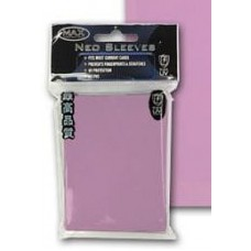 50 Max Protection Standard Game Card Deck Guards - Flat Pink