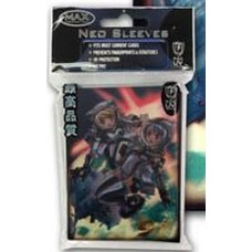 Pack of 50 Max Space Girls Standard Mtg Size Gaming Card Sleeves