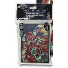 Pack of 50 Max Shuriken Girl Standard Size Gaming Card Sleeves