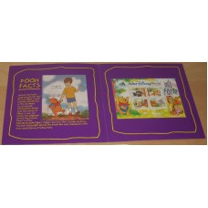 Set of Ghana / Canada Winnie The Pooh Postage Stamps