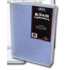 Pack of 25 BCW 8.5 x 11 - Hard Plastic Topload Photo Holders