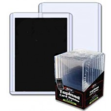 Pack of 10 BCW 3 x 4 x 7mm Mega Thick Card Topload Holders