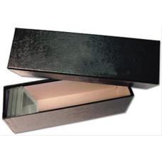 Guardhouse Single Row Cardboard Graded Coin Slab Box - Black