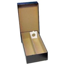 "Guardhouse 2 Row 10"" Black Cardboard 2x2 Coin Flip Storage Box"