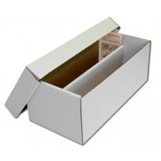 BCW Graded Baseball / Trading Card 2-Row Shoe Storage Box
