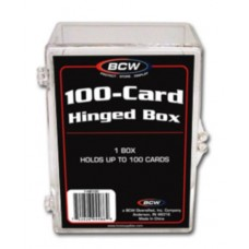 BCW Hinged 100 Count Baseball Trading Card Box #Hb100