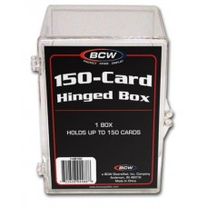 BCW Hinged 150 Count Baseball Trading Card Box #Hb150