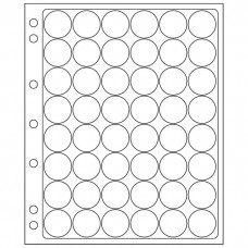 2 Lighthouse Encap Clear Pages for 24/25mm Round Coin Holders