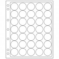 2 Lighthouse Encap Clear Pages for 28/29mm Round Coin Holders