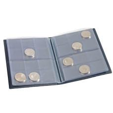Lighthouse Blue Coin Wallet Pocket Album for 96 Coins