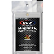 160 BCW 100 Point UV Protected Magnetic Trading Card Holders