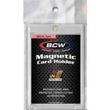 BCW 360 Point UV Protected Magnetic Baseball Trading Card Holder