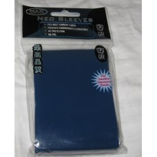 50 Max Protection Deck Guards Flat Reflex Blue Small / Yugioh