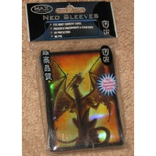 Pack of 50 Max Protection Fire Breather Small CCG Neo Sleeves