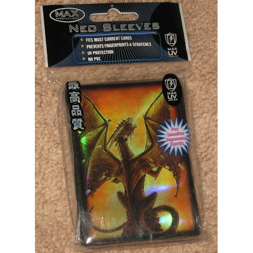 Pack of 60 Max Protection Deck Guards Inferno Small YuGiOh Size sleeves