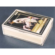 Pro-Mold PC-50 50 Count Trading Card Snap Lid Plastic Box Promold PC50