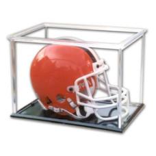 Pro-Mold Football Mini Helmet Holder w/ Black Base