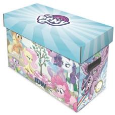 BCW Short Cardboard Comic Book Storage Box with My Little Pony Design