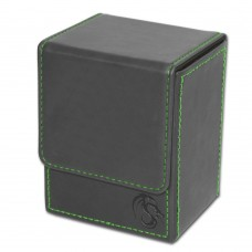 BCW Gray Deck Case LX Gaming Card Leatherette Storage Box