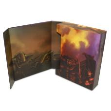 BCW Magazine / Document Storage Stor-Folio Box with Good vs Evil Fantasy Art